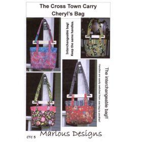 CROSS TOWN CARRY - CHERYL'S BAG PATTERN