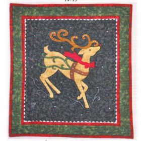 The Nose Knows Christmas Wall Hanging Quilt Pattern