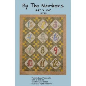 By The Numbers Quilt Pattern