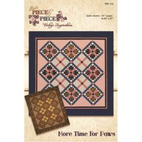 More Time For Paws Quilt Pattern