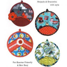 Potholder Pizazz Quilt Pattern