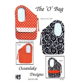 """The """"O"""" Bag Quilt Pattern"""