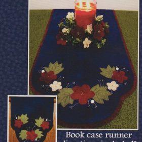 Folk Art Flowers Wool Runner & Centerpiece Pattern