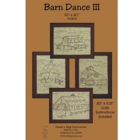 Barn Dance III Embroidery Pattern