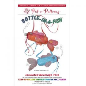 Bottle in a Fish Insulated Tote Pattern