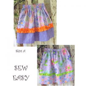 It's A Girl Thing Skirts Pattern
