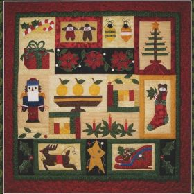 Christmas in Connecticut Block of the Month Pattern Set