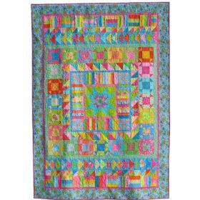 Bright Beginner Quilt Pattern