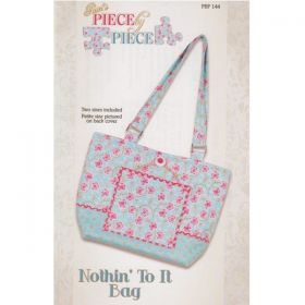 Nothin' To It Bag Pattern