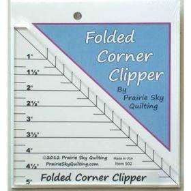 Folded Corner Clipper Ruler