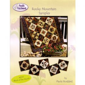 Rocky Mountain Sampler Block of the Month Quilt Pattern*