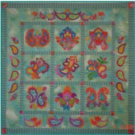Miniature Paisley Applique Pattern