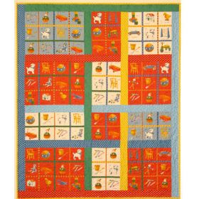 COLOR CRAYONS QUILT