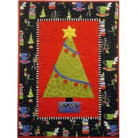O' Christmas Tree Applique Pattern