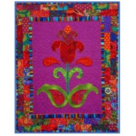 Tantalizing Tulip Applique Pattern