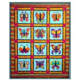 Butterfly Boutique Applique Pattern