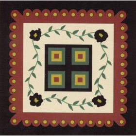 FLANNEL PENNY RUG TABLECLOTH*
