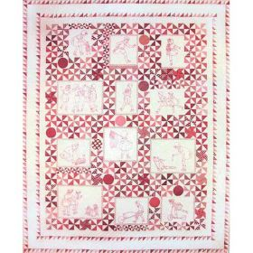 PLAYMATES QUILT-SET OF 12
