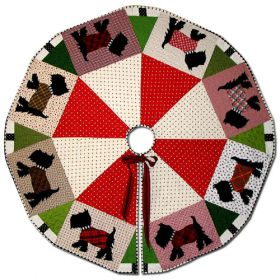 SCOTTIE TREE SKIRT