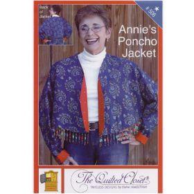 ANNIE'S PONCHO JACKET QUILT PATTERN
