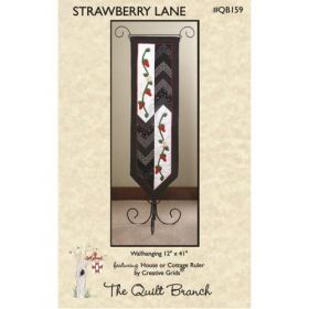Strawberry Lane Wall Hanging Quilt Pattern