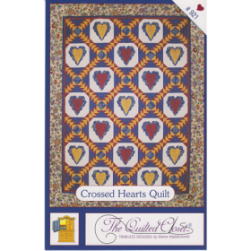 Crossed Hearts Quilt Pattern*