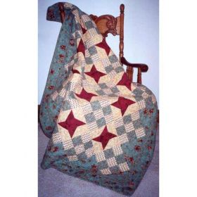STAR CHAIN QUILT PATTERN