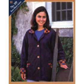 BARN BLAZER JACKET QUILT PATTERN*