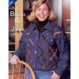 BUTTONS UP JACKET QUILT PATTERN