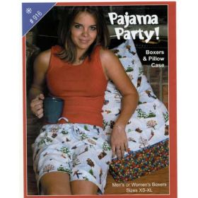 PAJAMA PARTY! QUILT PATTERN