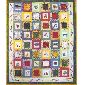 Back to School Quilt Pattern Set