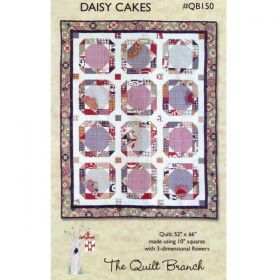 Daisy Cakes Quilt Pattern