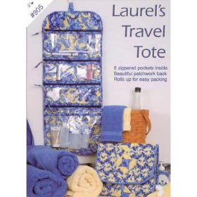 LAUREL'S TRAVEL TOTE QUILT PATTERN*