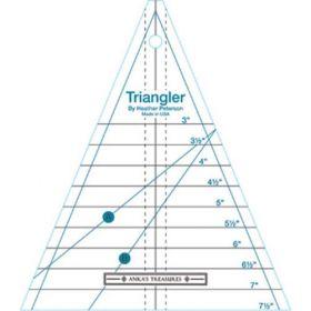 The Triangler - A Kaleidoscope Shaped Ruler