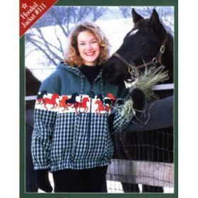 STALLION STAMPEDE HOODED JACKET QUILT PATTERN*