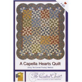 A CAPELLA HEARTS QUILT QUILT PATTERN