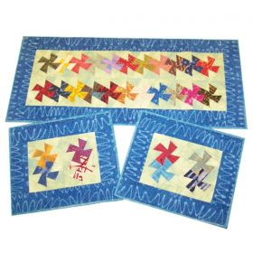 Charmed Twister Table Runner & Placemats Pattern