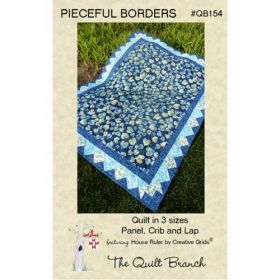 Pieceful Borders Lap, Crib and Panel Quilt Pattern