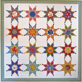 Perennial Stars Quilt Pattern