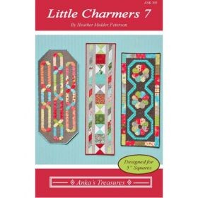 Little Charmers 7 Table Runners Quilt Pattern
