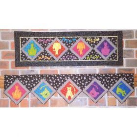CATS MEOW MANTEL SERIES QUILT PATTERN