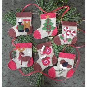 Warm Feet Quilt Pattern Ornament Kit