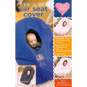 PEEK-A-BOO CAR SEAT COVER