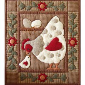 Spotty Hen Quilt Pattern