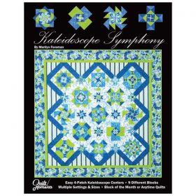 Kaleidoscope Symphony Quilt Book