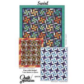 Swirl Quilt Pattern