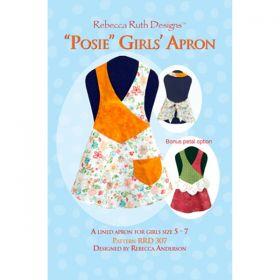 Posy Girls' Apron Pattern