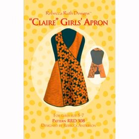 Claire Girls' Apron Pattern