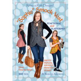 Sophie Smock Vest Pattern