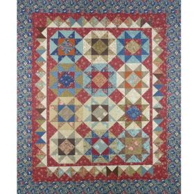 Charming Turnover Stars Quilt Pattern